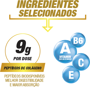 Ingredientes Selecionados Collagen Beauty Care Pineapple with Mint 300g | Nature Real Nutrition