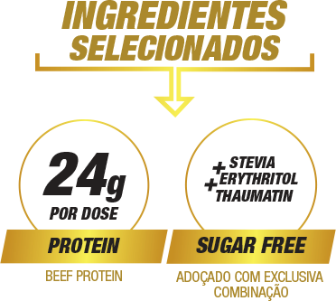 Ingredientes Selecionados Proto Beef Cacau 70% 420g | Nature Real Nutrition